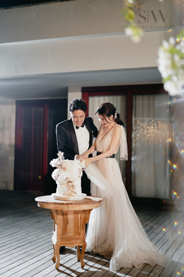 Edwin Siu & Priscilla Wong's Love-Filled Wedding Moments Captured in Six Senses Bali