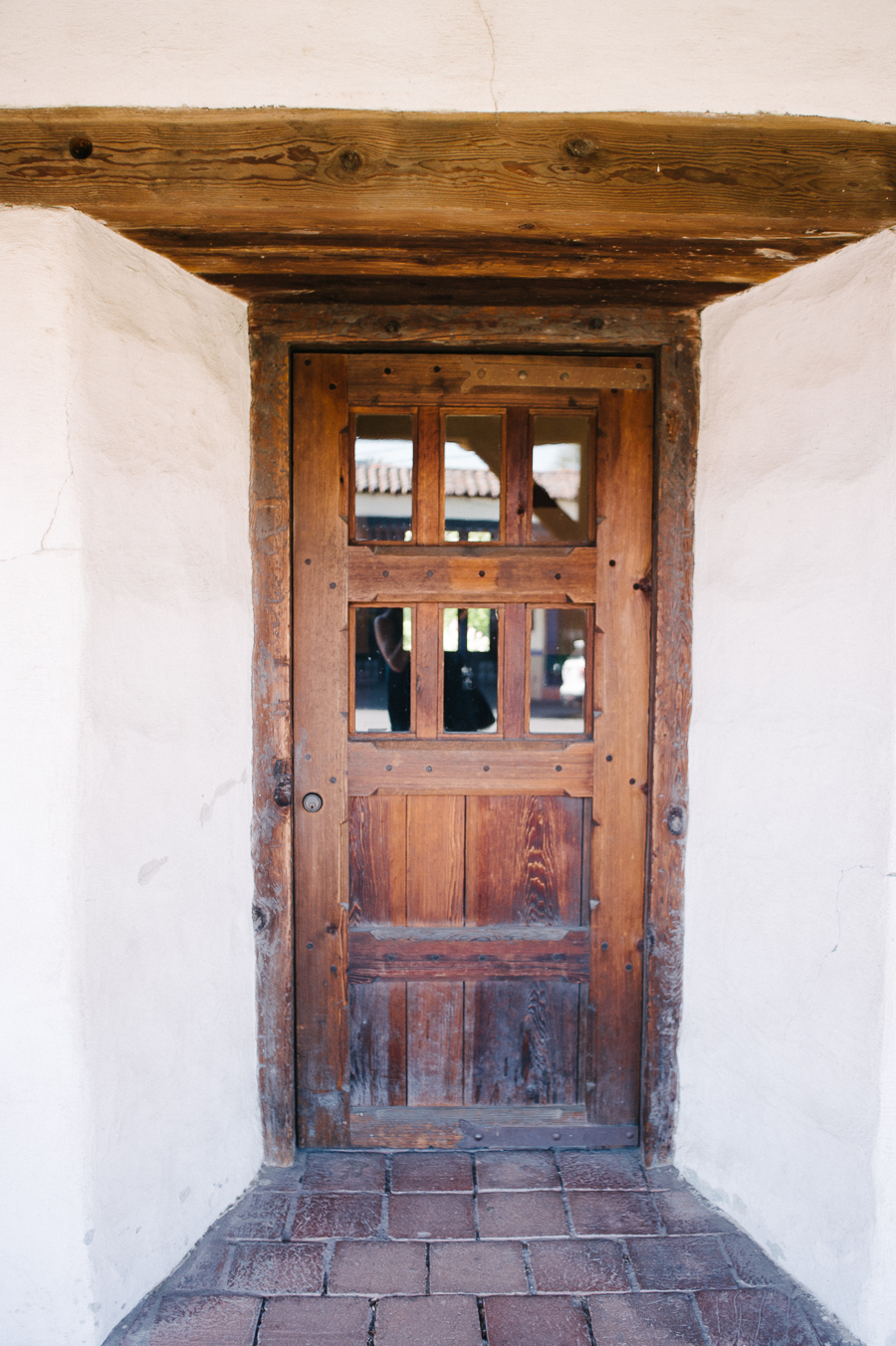 Old door in Sonoma California