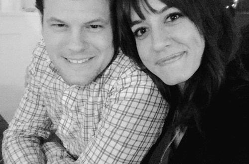 Dan and Anya on New Years Eve.