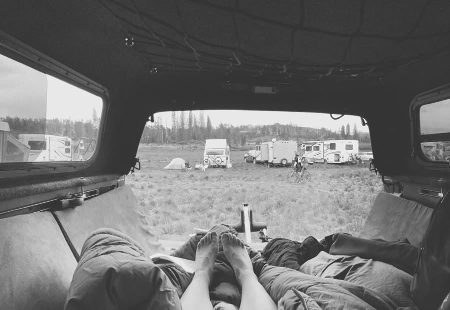 toyota tacoma camping
