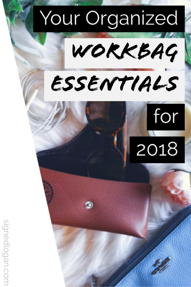 Don't forget to include organizing your #workbag into your new year's resolution routine! Filling your #tote with #organized #work #bag #essentials ensures you'll never find yourself without what you need to get through the day. Check out my personal organized work bag essentials now and score some for yourself, too! #career #careergirl #girlboss #workstyle