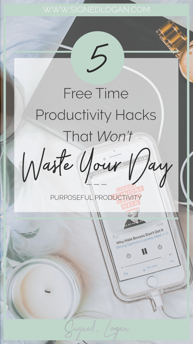 Free Time Productivity Hacks that Won't Waste Your Day - It's important to invest in your free time productivity so you lose fewer wasted hours! There's nothing worse than realizing that you wasted all of your free time in front of the TV. If you're serious about increasing your free time productivity, then these simple and non-taxing hacks are for you!