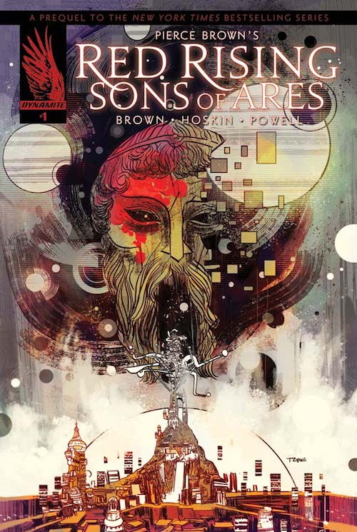 red rising sons of ares 1 3 covers a the signed page
