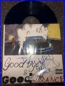 signed vinyl album