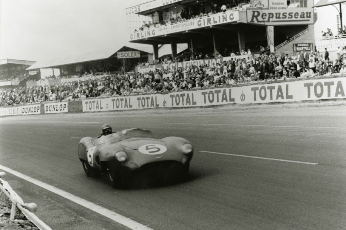Aston Martin F1 - DBR1 Le mans 1959