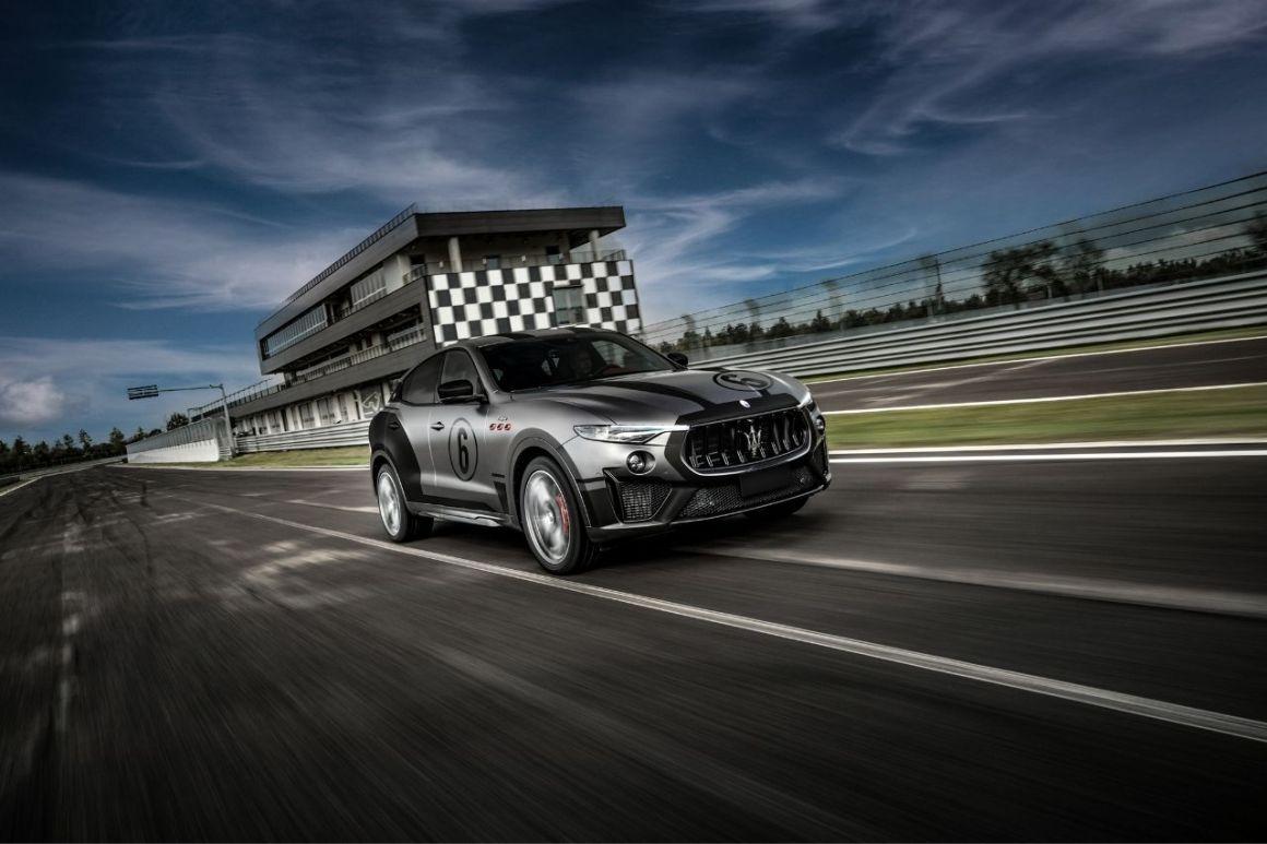 Master Maserati Driving Courses Levante Trofeo