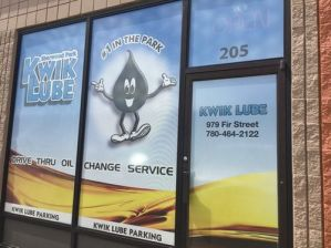 Calgary Window Sign