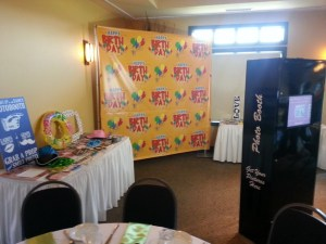 Leduc Step And Repeat Banner