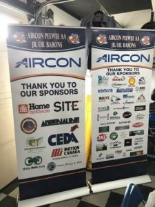 Pop Up Banner Stands Fort McMurray