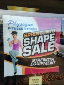 Poster Sign Sherwood Park