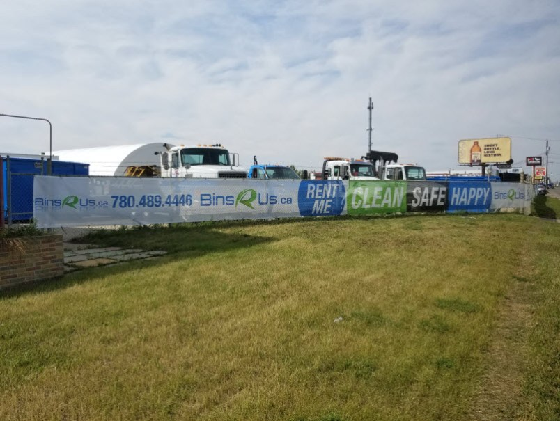 Mesh Banners Fort McMurray