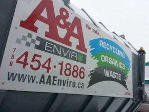 Large Aluminum Sign Edmonton East