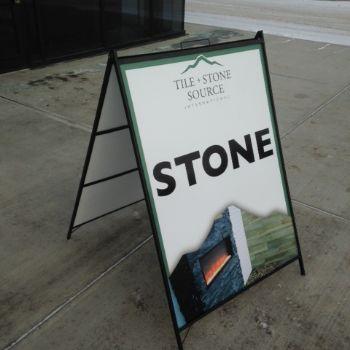 Spruce Grove A-Frame Sign