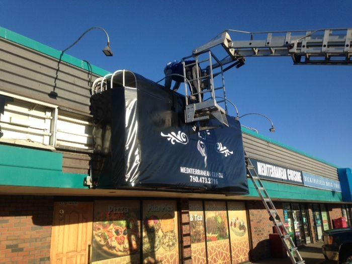 Sign Installation Calgary