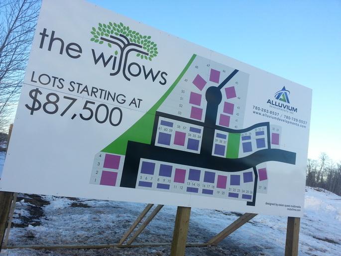 Commercial Real Estate Signs Sherdood Park
