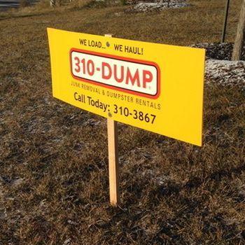 SCoroplast Signs Stony Plain