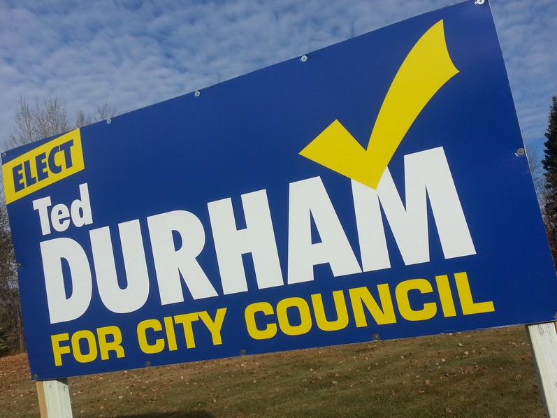 Election Signs Edmonton South