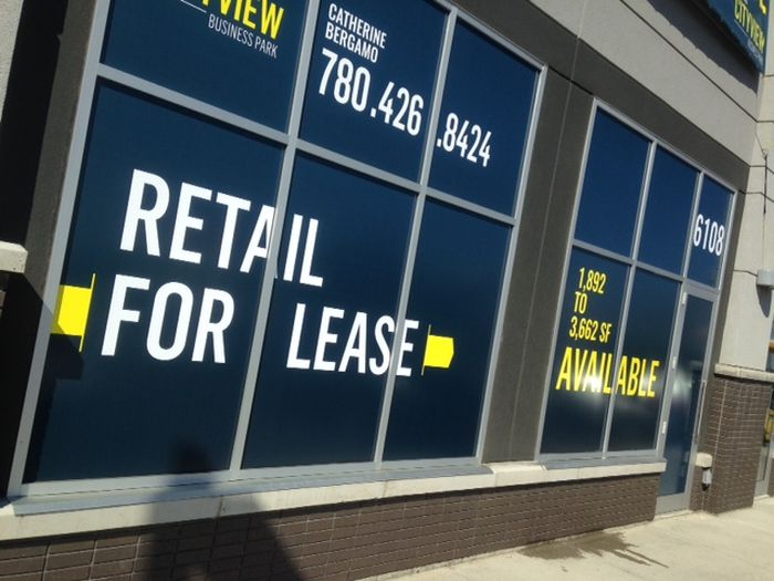 For Lease Signs Sherwood Park