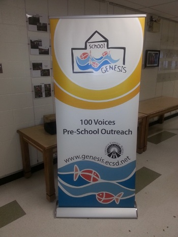 Retractable Banner Stand Leduc