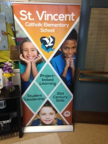 Pop-up Banner Stands Stony Plain