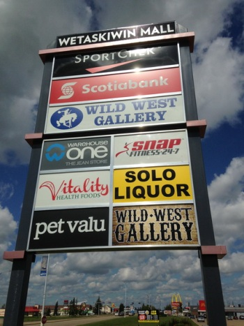 Pylon Signs St. Albert