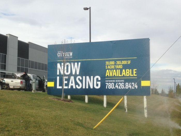 Real Estate Signs Stony Plain