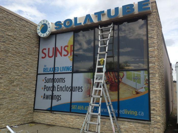 Winnipeg Sign Installation
