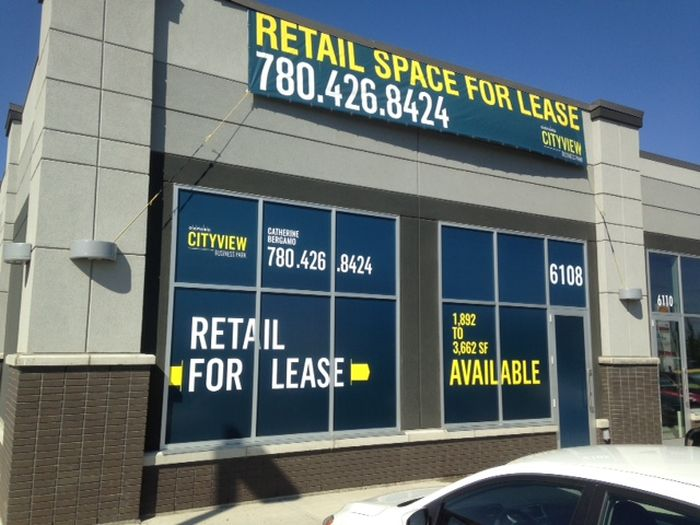 For Lease Signs Spruce Grove