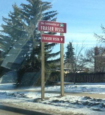 Wayfinding Signs Stony Plain
