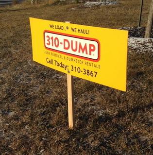 Yard Signs Calgary