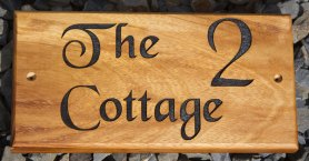 Wooden Sign - http://www.sign-maker.net/gallery/wooden-signs.html