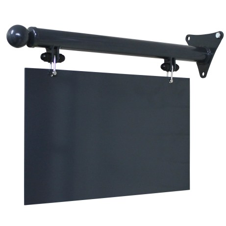 Simple Hanging Signs - https://www.sign-maker.co.uk/hanging-signage-and-brackets-105-c.asp