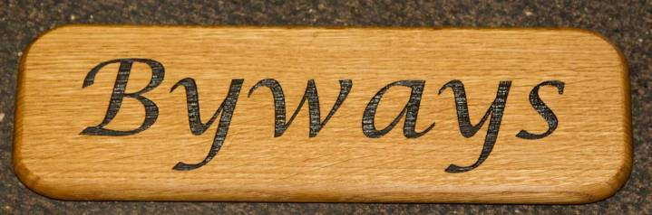 Oak sign with rounded corners, Font - Lucida Calligraphy Italic, ref - 111.LW.045. http://www.sign-maker.net/wooden/oak-carved-signs.html