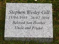 Silver Grey Granite Memorial
