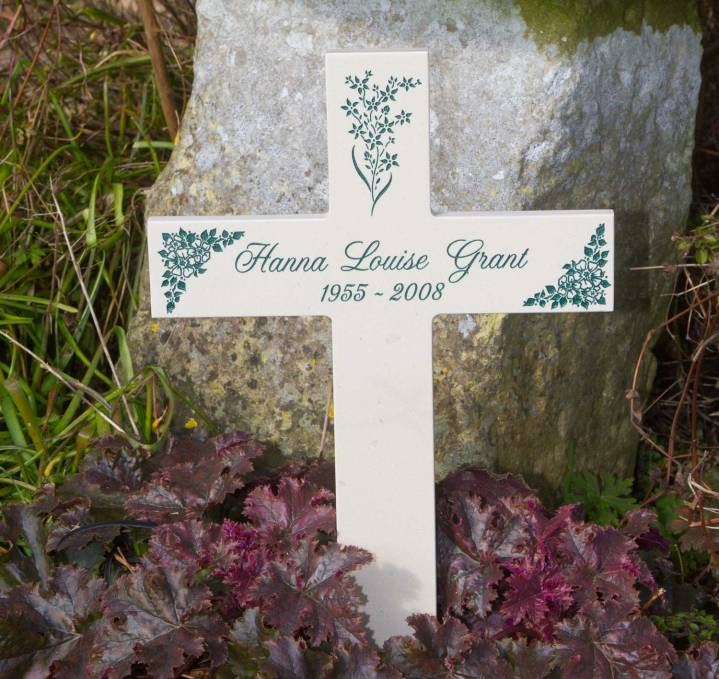 Corian Memorial Cross