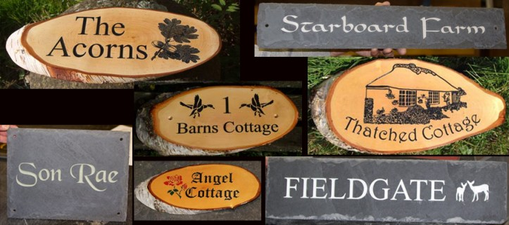 Country Cottage Signs