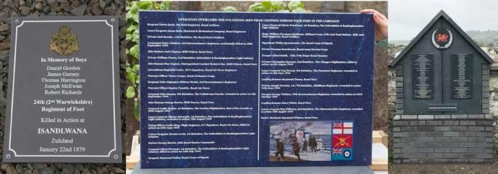 Corian war memorials made by The Sign Maker