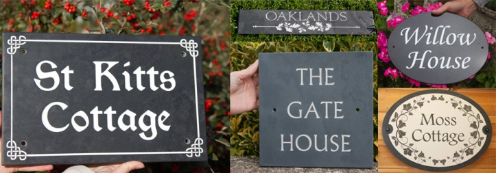 Stunning stone signage made onsite in our rural workshops at The Sign Maker.