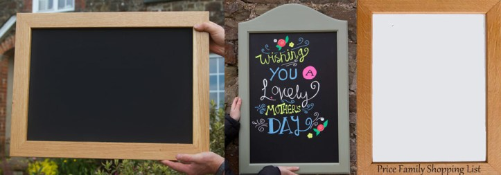Chalkboards or whiteboards are a great valentines gift this year.