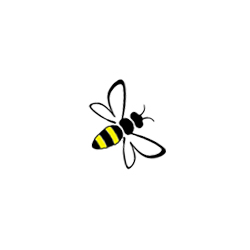Bee logo, The Sign Maker.