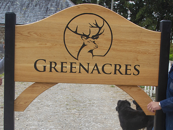 Spectacular entrance signs crafted onsite at The Sign Maker.