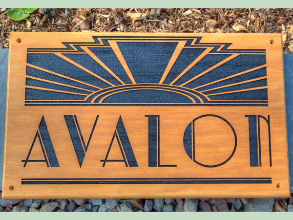 Bespoke wooden signage for your business made by The Sign Maker.