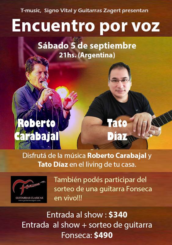 Encuentro por voz - Roberto Carabajal - Tato Díaz