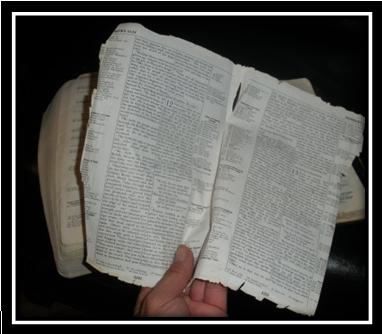 Don't rip pages out of Bible