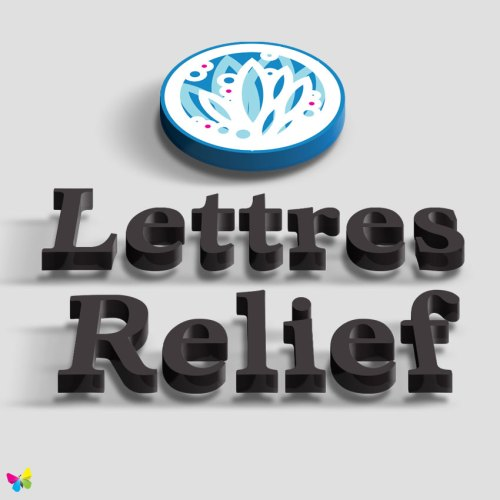lettres-relief