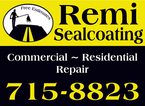 Example of a Two Color Yard Sign. Yellow and Black,
