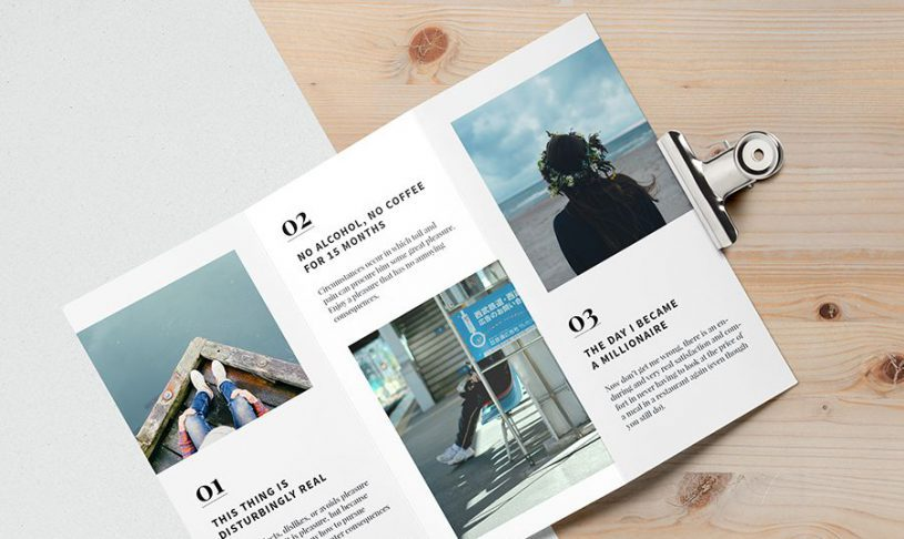 How to make a brochure in six steps