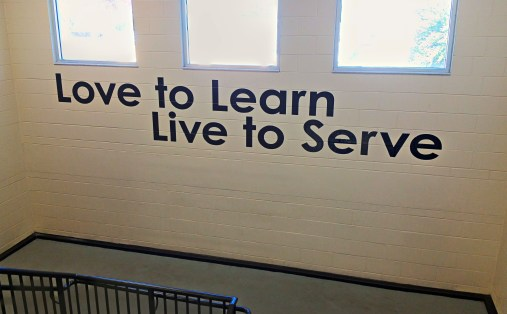 Love to Learn, Live to Serve