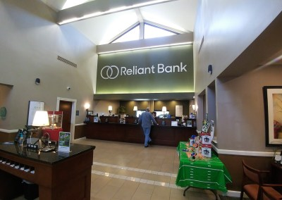 Reliant Bank Interior