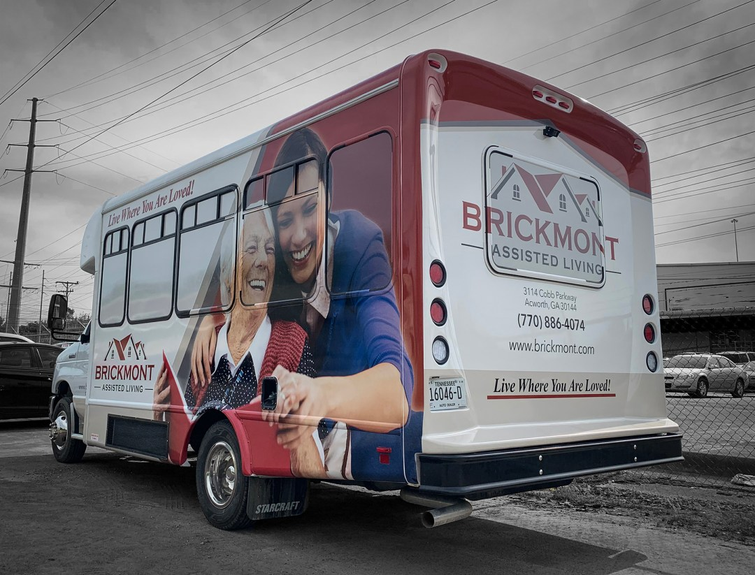 Brickmont Bus Wrap